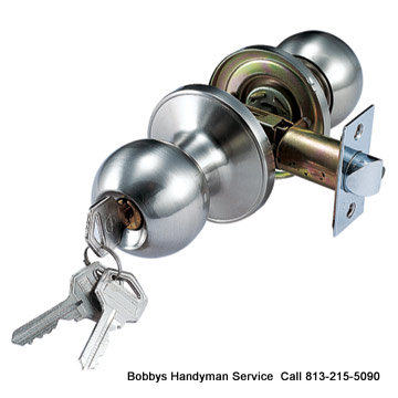 Local Tampa Locksmith - Bobby's Handyman Service
